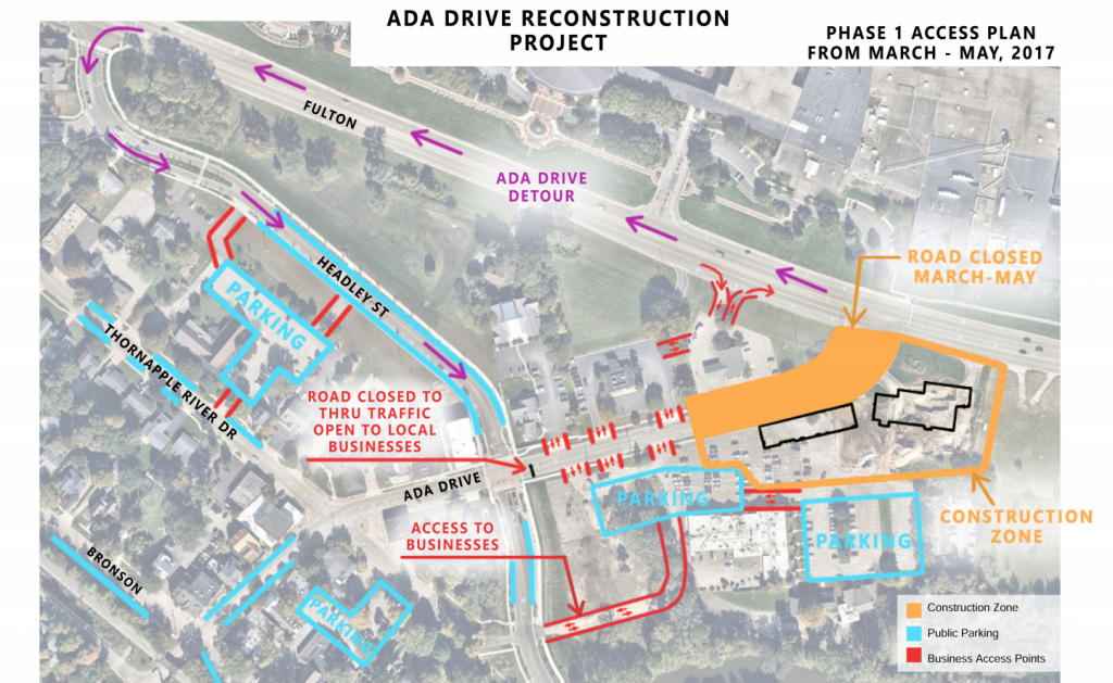 ada drive construction